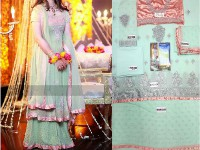 Embroidered Chiffon Lehenga Dress in Pakistan