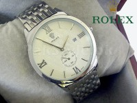 Rolex Down Second Watch - Silver in Pakistan