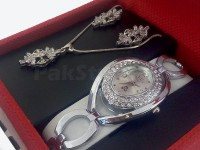 Jewellery & Watch Gift Set in Pakistan