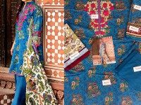 Embroidered Lawn Suit with Lawn Dupatta in Pakistan
