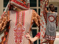 VS Classic Lawn Suit with Lawn Dupatta  C1-2A in Pakistan
