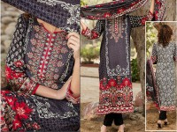 VS Classic Lawn Suit with Lawn Dupatta  C1-3A in Pakistan