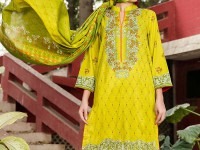VS Classic Lawn Suit with Lawn Dupatta  C1-4A in Pakistan