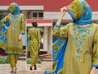 VS Classic Lawn Suit with Lawn Dupatta  C1-5A in Pakistan