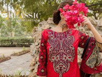 VS Classic Lawn Suit with Lawn Dupatta  C1-6A in Pakistan