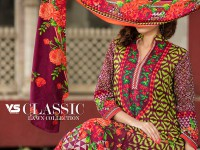 VS Classic Lawn Suit with Lawn Dupatta  C1-7A in Pakistan