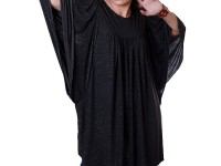 Women's Poncho Top - Black in Pakistan