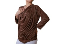 Trendy Women's Top - Brown in Pakistan
