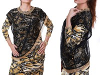 Leopard Print Women's Top in Pakistan