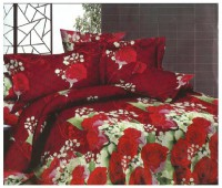 3D Bed Sheet With 2 Pillow Covers (3D-13) in Pakistan