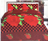 3D Bed Sheet With 2 Pillow Covers (3D-16) in Pakistan