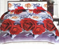 3D Bed Sheet With 2 Pillow Covers (3D-17) in Pakistan