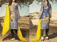Savanah Digital Print Embroidered Lawn V1-02 in Pakistan