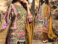 Savanah Digital Print Embroidered Lawn V1-03 in Pakistan