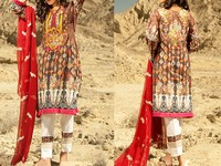 Savanah Digital Print Embroidered Lawn V1-05 in Pakistan