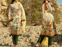 Savanah Digital Print Embroidered Lawn V1-10 in Pakistan