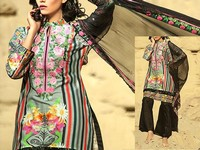 Savanah Digital Print Embroidered Lawn V1-12 in Pakistan