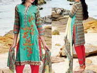 MTF Embroidered Lawn Dress D02-A Price in Pakistan
