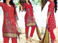 MTF Embroidered Lawn Dress D03-A in Pakistan