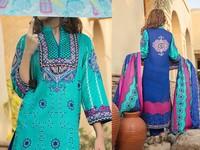 VS Classic Lawn Dress C2-11A in Pakistan