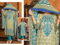 VS Classic Lawn Dress C2-14A in Pakistan