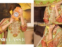 VS Classic Lawn Dress C2-18A in Pakistan