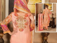 VS Classic Lawn Dress C2-18B in Pakistan