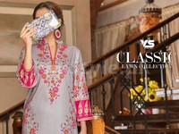 VS Classic Lawn Dress C2-19A in Pakistan
