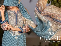 VS Classic Lawn Dress C2-20A in Pakistan