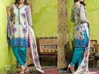 Libas Printed Lawn Suit ST-1A in Pakistan