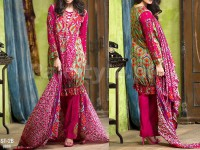 Libas Printed Lawn Suit ST-2B in Pakistan