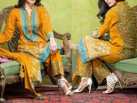 Libas Printed Lawn Suit ST-8B in Pakistan