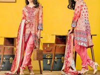 Libas Printed Lawn Suit ST-13A in Pakistan