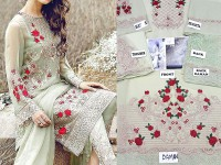Chiffon Embroidered Suit in Pakistan