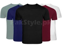 Pack of 5 Plain T-Shirts P2 Price in Pakistan