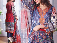 Ayesha Lakhani Embroidered Lawn 802-A Price in Pakistan