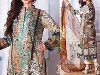 Ayesha Lakhani Embroidered Lawn 804-A in Pakistan