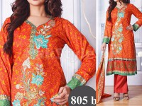 Ayesha Lakhani Embroidered Lawn 805-B Price in Pakistan