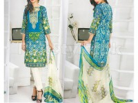 Rashid Classic Embroidered Lawn 1304-A in Pakistan