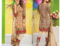 Rashid Classic Embroidered Lawn 1308-A in Pakistan