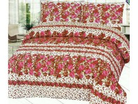 King Size Crystal Cotton Bed Sheet in Pakistan