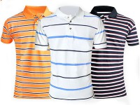 Pack of 3 Yarn Dyed Polo Shirts in Pakistan
