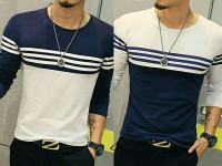 Pack of 2 Designer Full Sleeves T-shirts in Pakistan