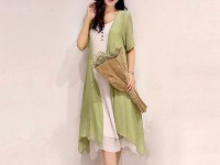 Ladies Green Shrug with Inner in Pakistan