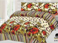 King Size PC Bed Sheet with 2 Pillow Covers in Pakistan
