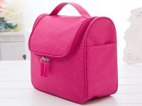 Multi Pockets Girls Cosmetic Bag - Pink in Pakistan