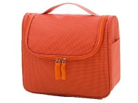 Multi Pockets Girls Cosmetic Bag - Orange in Pakistan