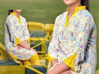 2 Piece Sitara Sapna Printed Lawn Suit 6066-A in Pakistan