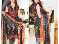 Abrish Classic Lawn Suit 204-A in Pakistan