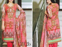 Abrish Classic Lawn Suit 212-B in Pakistan